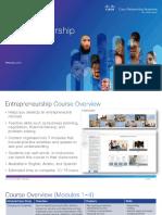 Entrepreneurship Course Overview