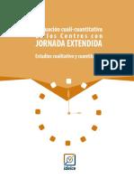 Evaluacion Cuali-cuantitativa Centros Jornada Extendida