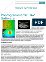 Photogrammetric Uav Software