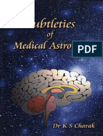 Subtleties of Medical Astrology by Dr. K S Charak