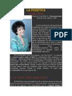 Posmodernismo- Esther Diaz IV LA POSÉTICA