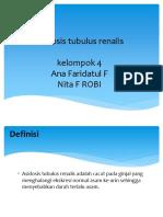 Asidosis Tubulus Renalis