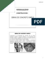 7.- Concreto Simple