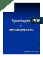 Ergonomie Cognitive Cours10 p2010