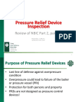 PRD Inspection NBIC