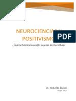 Neurociencias y Positivismo Biologista. NL