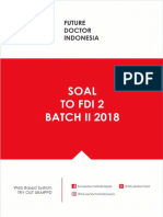 [Future Doctor] Soal to 2 Batch 2 2018 (1)