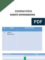 Program Kerja Sub Komite Kridensial Ketua