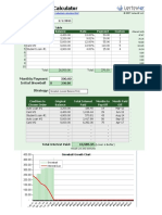 Debt Reduction Calculator 10 1