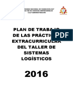 Plan de Trabajo Logistcia