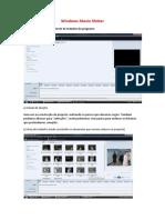 Windows Movie Maker-Formação