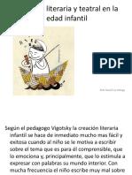 Creación Literaria y Teatral en La Edad Infantil