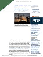 Brasil começa a adotar corrente contínua na transmissão de energia