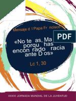 «No temas, María, porque has encontrado gracia ante Dios»-2.docx