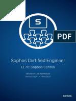 EL70 v2017.1.4 Lab Workbook Sophos Central