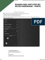 Tutorial_ Criando Meu App Step-By-step - Botões de Hardware