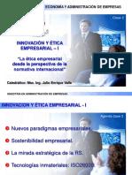 Innovacion y Etica Empresarial - Clase 2