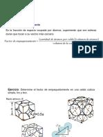 Tema 6 - Ejercicios Cristalografia