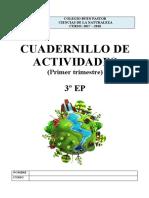 Cuadernillo Actividades Naturales - 3ep - 1trimestre
