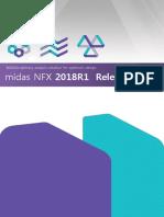 Release Note Midas NFX2018R1 En