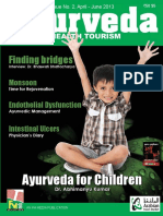 Ayurveda Vol. 8 Issue No. 2 April June 2013