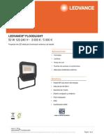 Data Sheet LED ADVANCE FLOOD LIGHT 50W