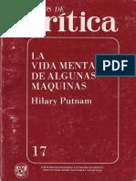Putnam, H8ilary - La vida mental de algunas máquinas