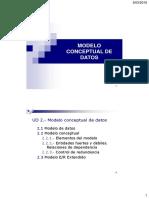 Modelado Conceptual