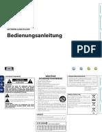 Denon DNP F109 Bedienungsanleitung