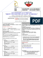 Registration Form - How To Excel In Law School (UST.docx