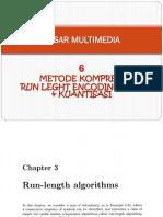 6 Metode Kompresssi RLE Kuantisasi