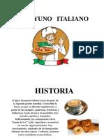 DESAYUNO   ITALIANO hist..pptx