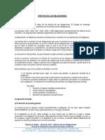 8.- Derecho Civil - De las Obligaciones - Efectos de las Obligaciones.pdf
