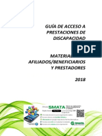 INSTRUCTIVO DISCAPACIDAD 2018