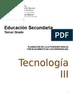 PLANEACIONES - Tecnología  3