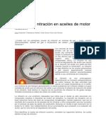 Causas de Nitración en Aceites de Motor