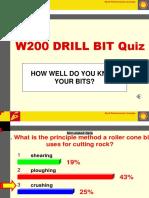 w200-Drill Bit Quiz (ACP Version)