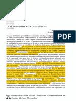Mary Louise Pratt - La Modernidad Desde Las Americas