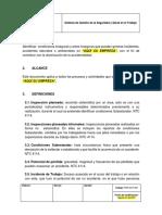 PRG-SST-003 Programa de Inspecciones