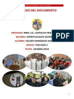 Síntesis Directorio Para El Miniterio y La Vida de Los Presbíteros