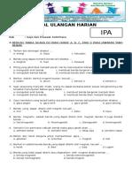 Soal IPA Kelas 5 SD Bab 5 Gaya Dan Pesawat Sederhana Dilengkapi Kunci Jawaban