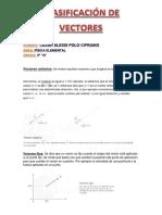 Clasificación de Vectores