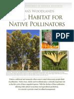 Iowa Woodlands Vital Habitat for Native Pollinators