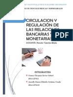 Circulacion y Regulacion de Relaciones del Banco Mundial