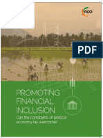 Promoting Financial Inclusion Can the Constraints of Political Economy Be Overcome