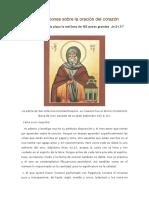 San Nilo El Asceta - 153 Reflexiones Sobre La Oración Del Corazón