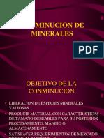 2 Conminucion de Minerales