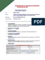 Auditoria Medicina Noviembre Informe2012