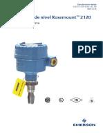 Guía de Inicio Rápido Interruptor de Nivel Rosemount 2120 Es Es 3671450