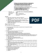 Audit Keuangan Sektor Komersial UTS SEmester 5 D3 Pajak 15_16